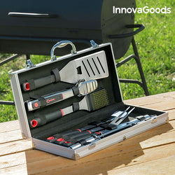 InnovaGoods Professional Barbecue Tool Case (11 pieces)