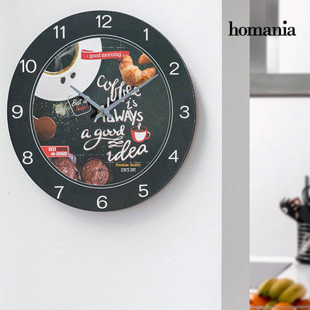 Homania Food Wall Clock