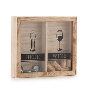 Wagon Trend Beer & Wine Wall Decoration for Stoppers