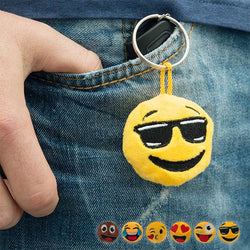 Emoji Plush Key-Chain