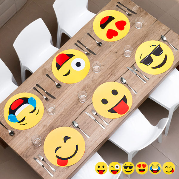 Emoticon Table Mat