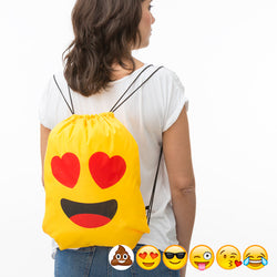 Emojis Drawstring Bag Backpack