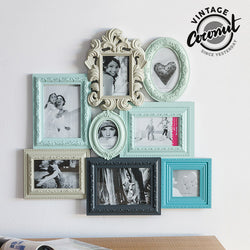 Vintage Coconut Empire Photo Frame (8 photos)