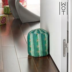 Wagon Trend Decorative Cactus Doorstopper