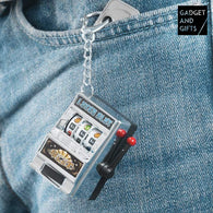 Gadget and Gifts Slot Machine Keyring