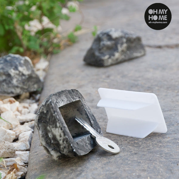 Oh My Home Key Hiding Decorative Stone