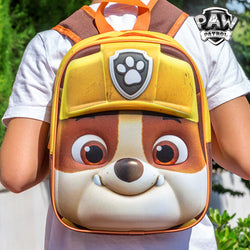 Rubble (Paw Patrol) 3D School Backpack