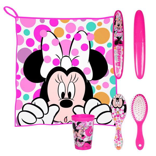 Minnie Children's Toilet Bag for the Dining Room (5 pieces)