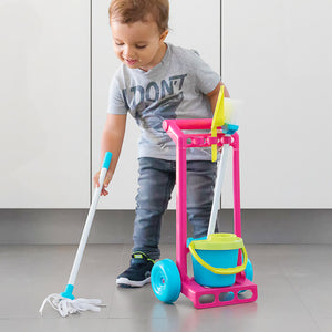 Cleaning Trolley for Playing (5 pieces)