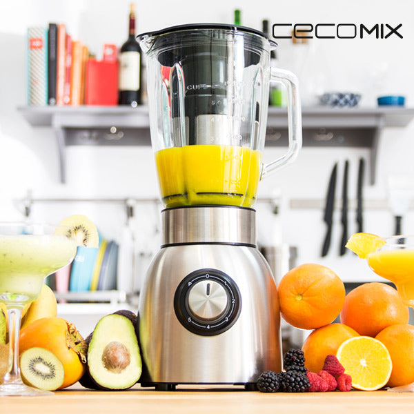 Cup Blender Cecomix Power Titanium 1250 1,8 L 1250W Steel