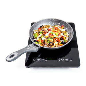 Induction Hot Plate Cecomix Full Crystal 8001 2000W Black