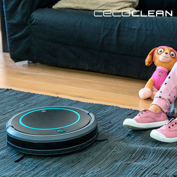 Robot Vacuum Cleaner Cecoclean 5028 0,3 L 70 dB 17W Black