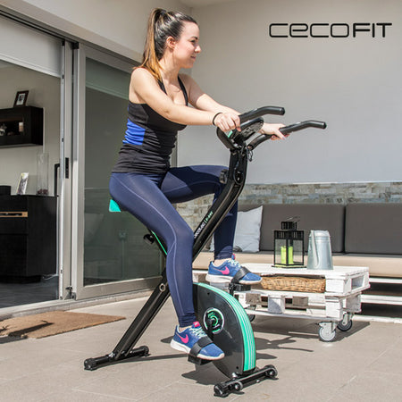 Cecofit Static Foldable X-Bike