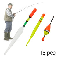 Fishing Float Set (15 pieces)
