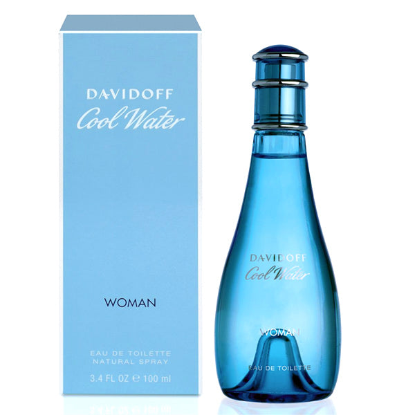 Davidoff - COOL WATER WOMAN edt vapo 100 ml