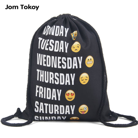 Emoji Backpack drawstring