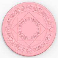 Pink Cardcaptor Sakura Light Wireless Charger