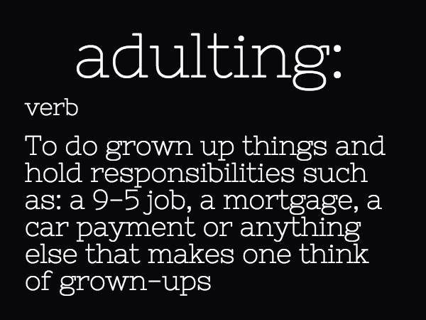 The Four Keys to Adulthood.