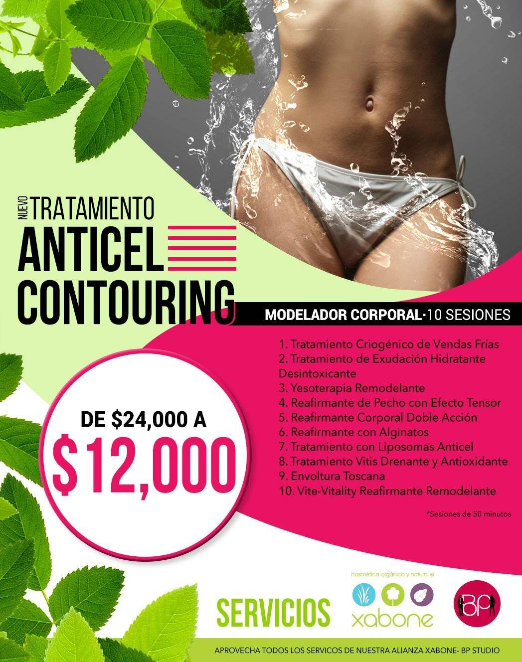 tratamiento anticel-contouring bp studio gift card