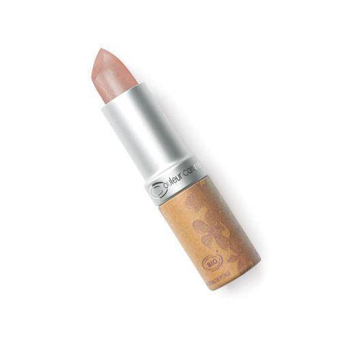 lápiz labial nacarado color 102 marrón beige -couleur caramel
