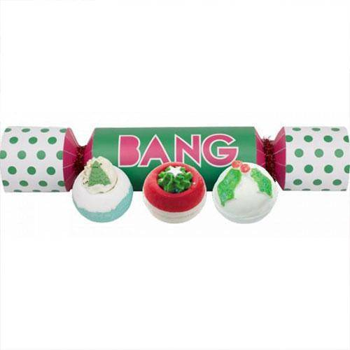 bang cracker set de bombas de baño - bomb cosmetics