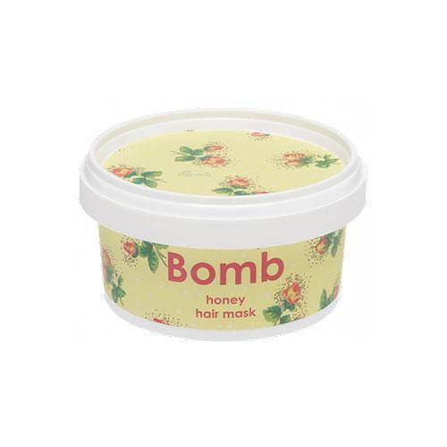 mascarilla de miel para el cabello honey - bomb cosmetics