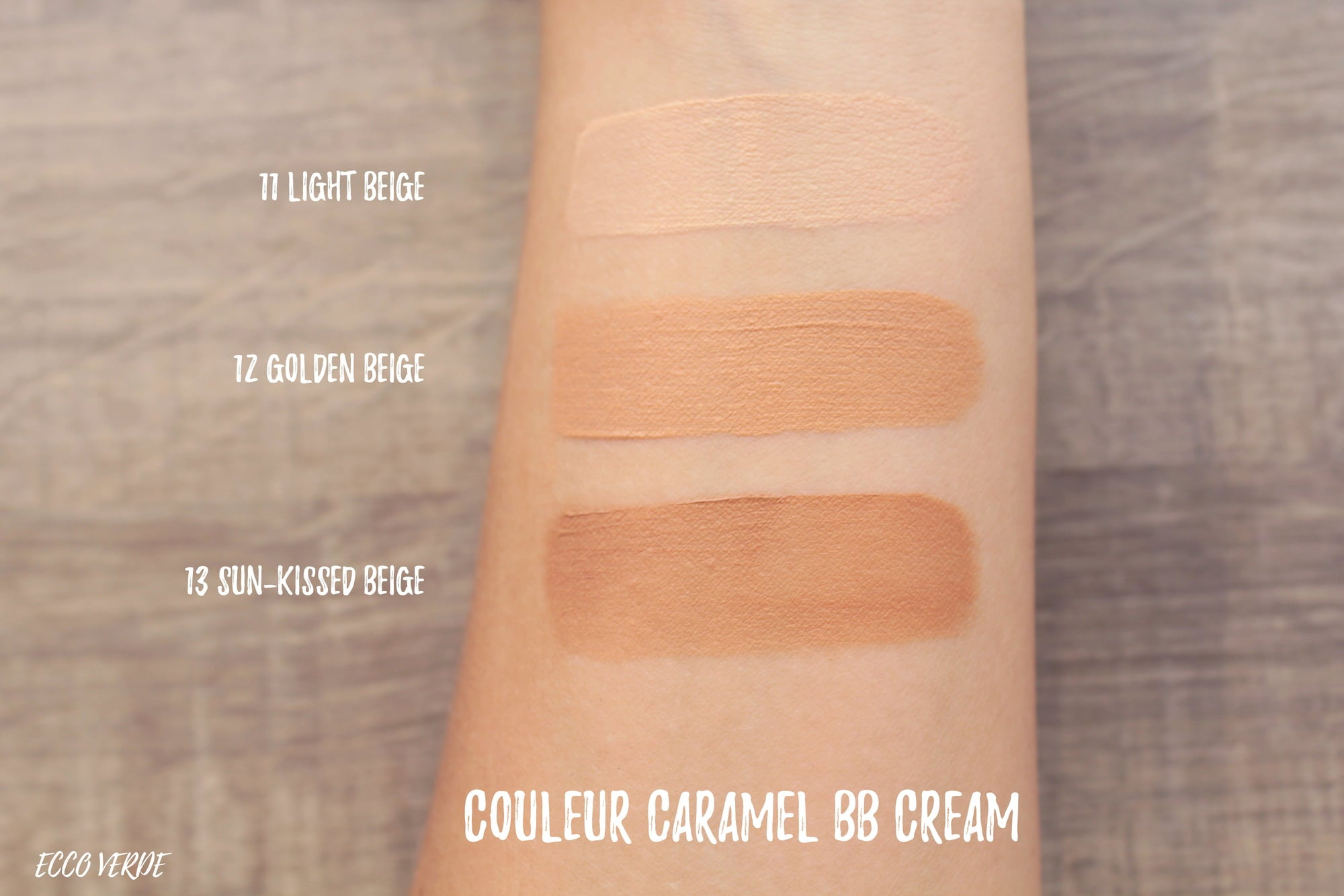 BB Cream Vegana Base de Maquillaje - Couleur Caramel