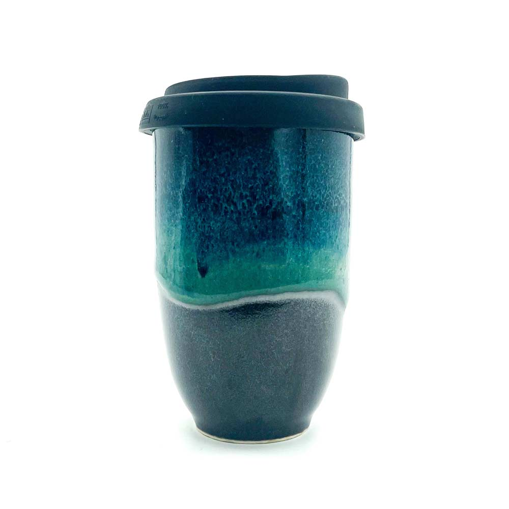 Stoneware coffee cups