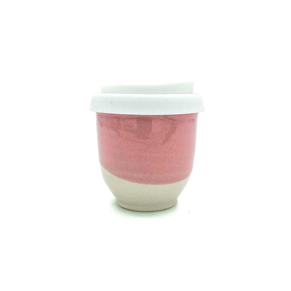 Pottery For The Planet Cup Pretty In Pink Smooth 4oz