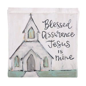 Blessed Assurance Canvas
