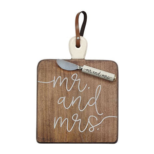 Mr and Mrs Serving Board