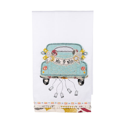Mr and Mrs Tea Towel