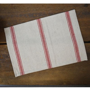 Placemats-Red Stripe