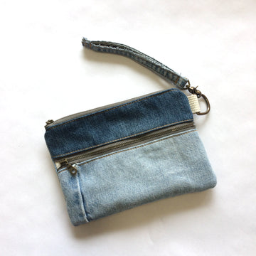Casual Clutch Denim