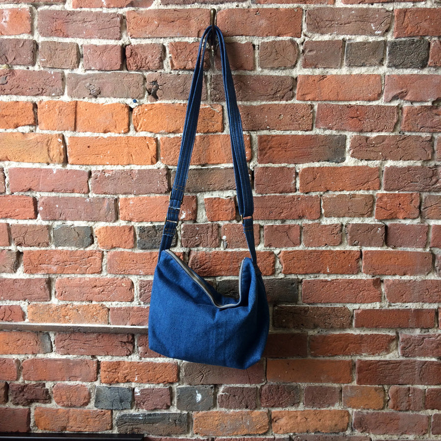 Denim Crossbody Large Size