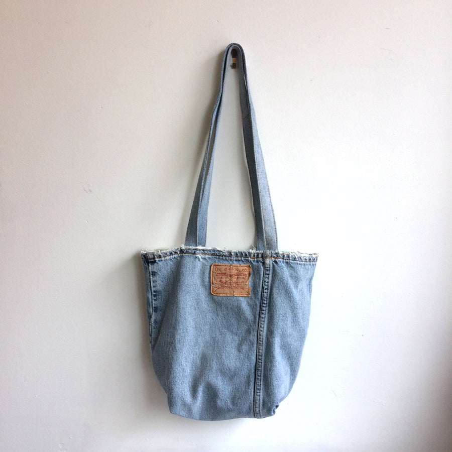 Levi's Jeans Upcycled Denim Tote Bag