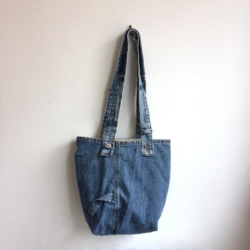 The Levi's Wrangler Upcycled Denim Tote Bag