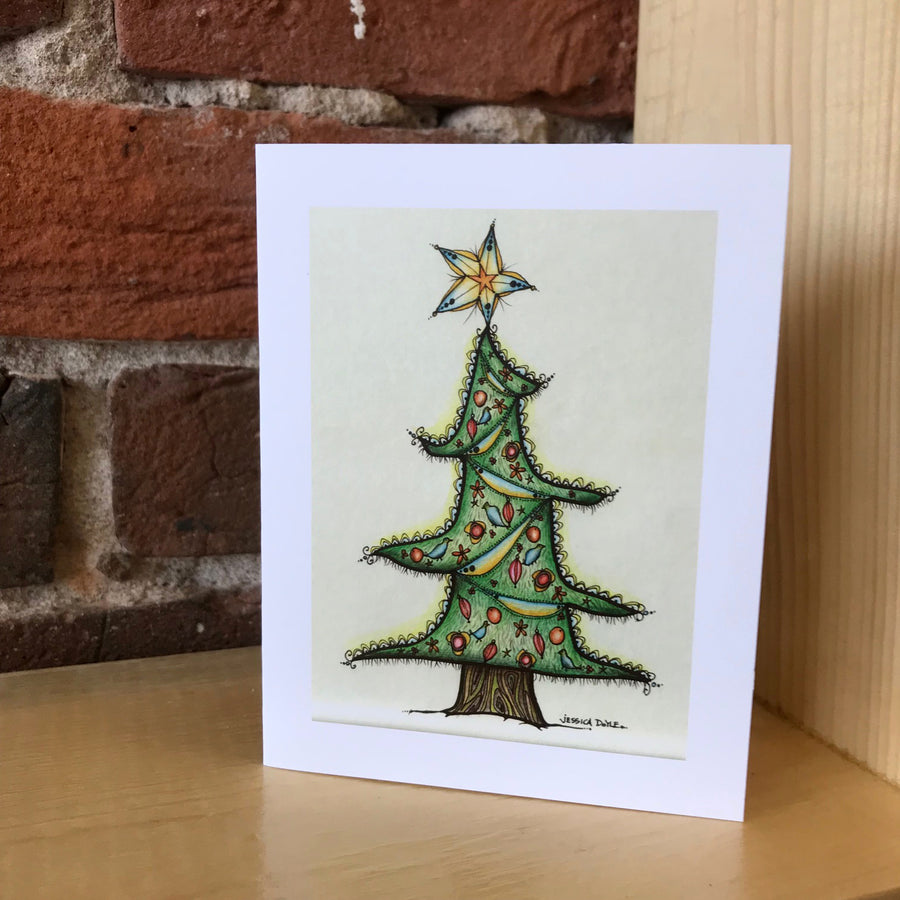 Oh Christmas Tree Note Card