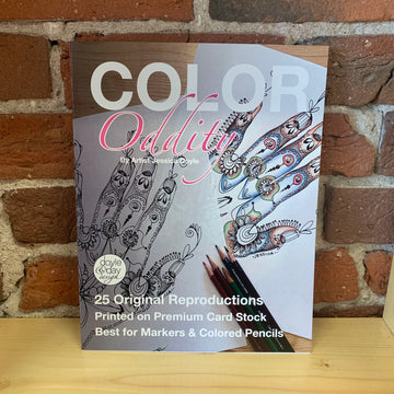 Color Oddity - 25 page adult coloring book - Keeping it weird since 1973!