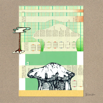 Knowledge no.2 Original Mixed Media