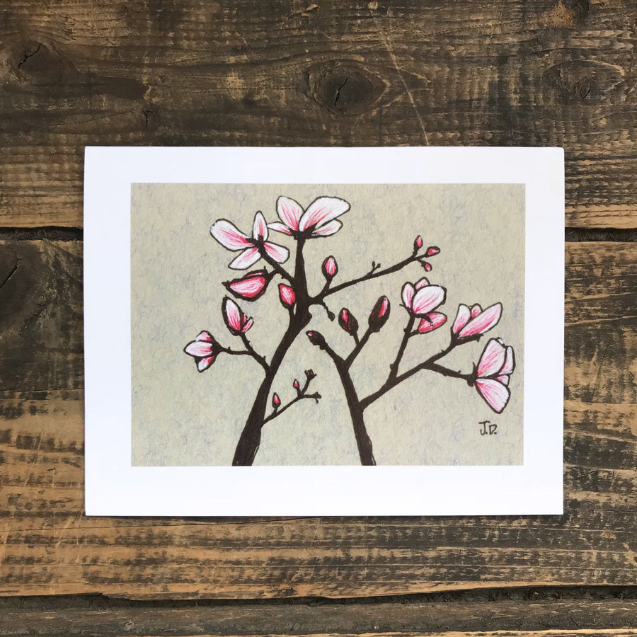 Magnolia no.4 Note Card