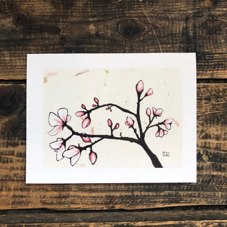Magnolia no.1 Note Card