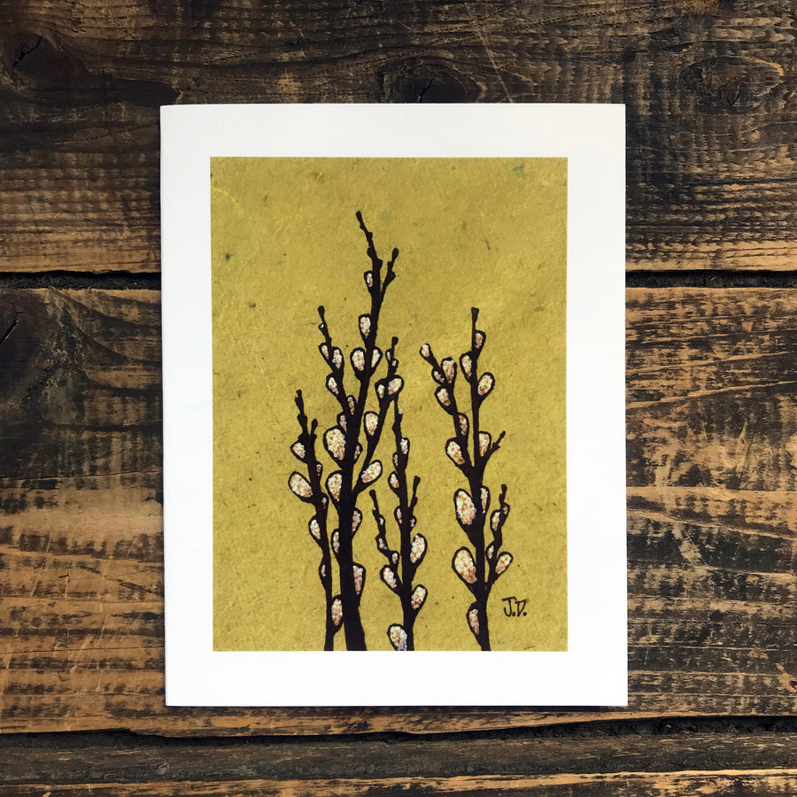 Pussy Willows no.2 Note Card