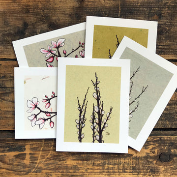Spring Blossoms Note Card Set