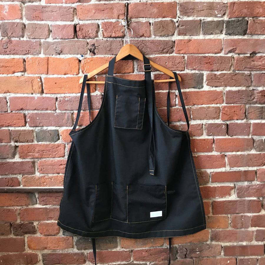 After Midnight Lightweight Black Apron