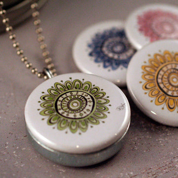 Locket Set - Amelia Mandala Series