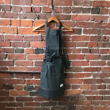 Slate Grey Canvas Apron