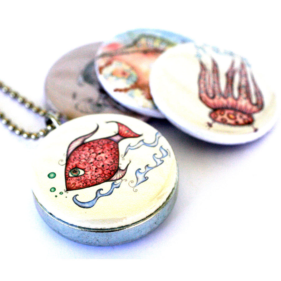 Locket Set - Sealife Series