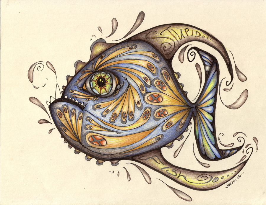Stupid Fish - a deep water fish that you may never see