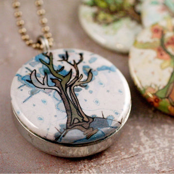 Locket Set - The Four Seasons
